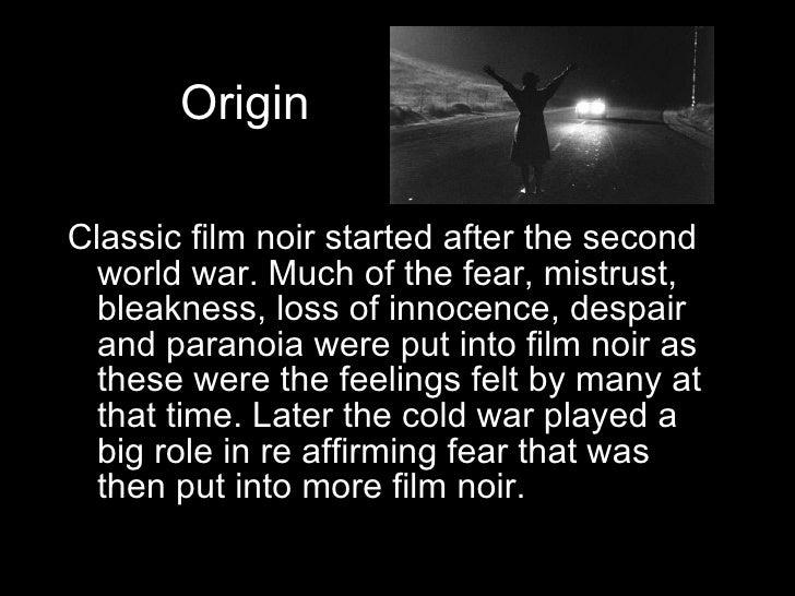Film Noir powerpoint Slide 2
