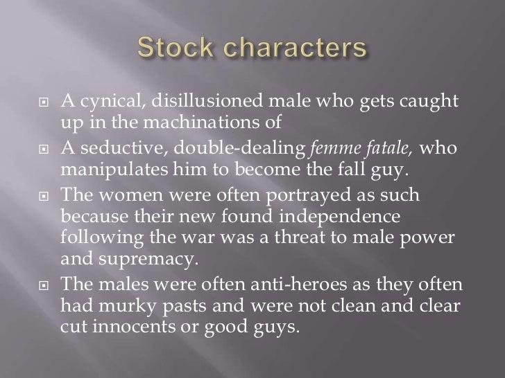    Innocence vs corruption   Male vs female   Good female vs Bad female   Light vs dark   Gullibility vs deceit and b...