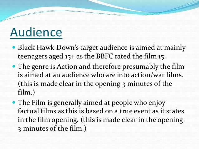 black hawk down analysis Black hawk down movie reviews & metacritic score: director ridley scott's  adaptation of the true war story of the attack on a group of us special forces se.