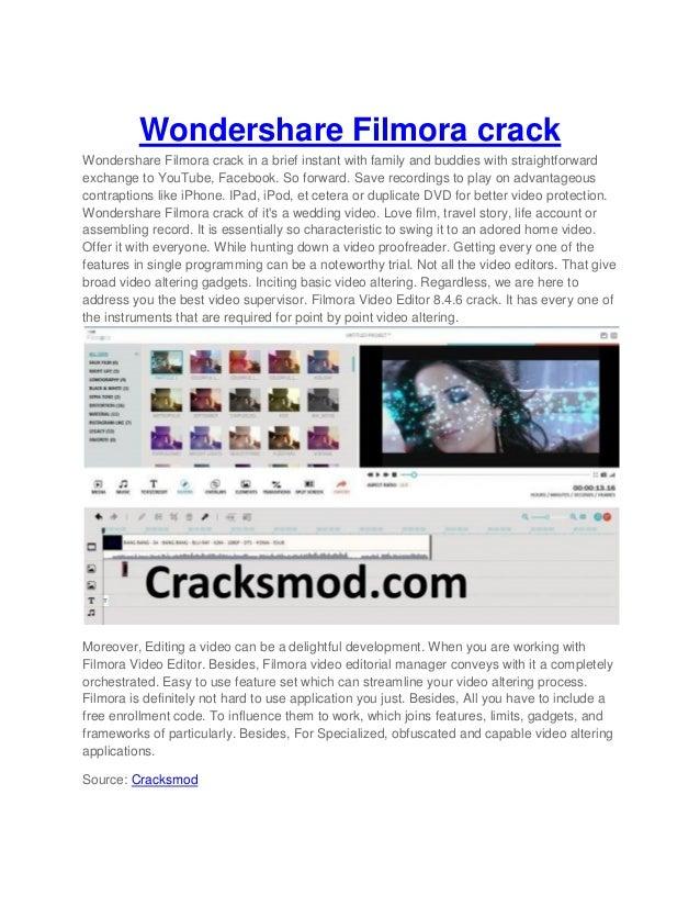 filmora with crack