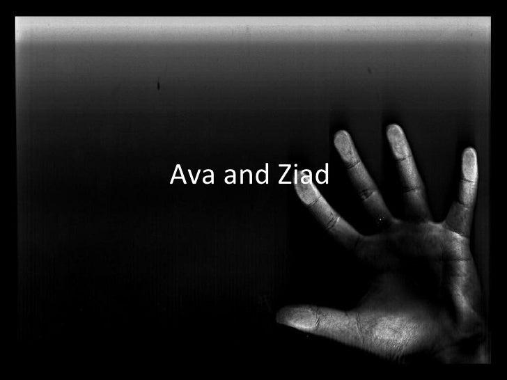 Ava and Ziad