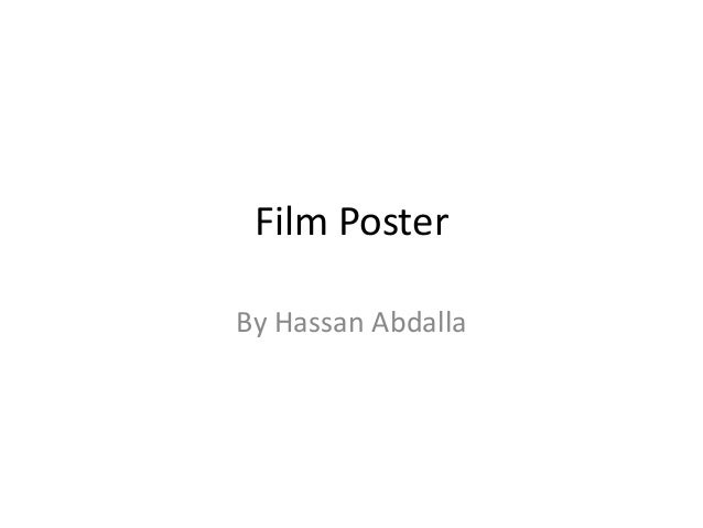 Film Poster By Hassan Abdalla