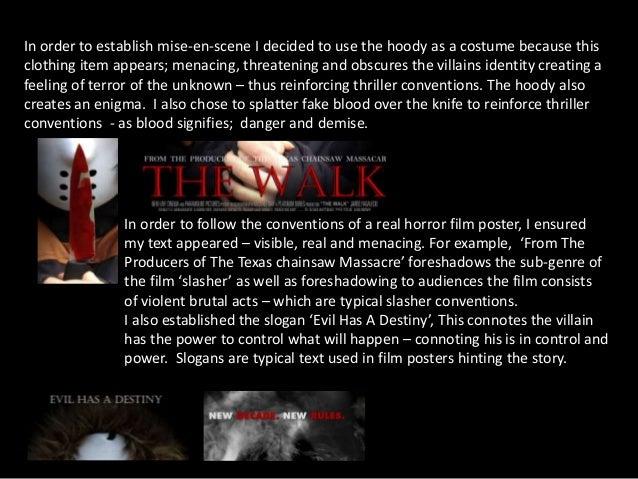 Scream Movie Poster Analysis