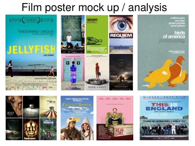 Film poster mock up / analysis