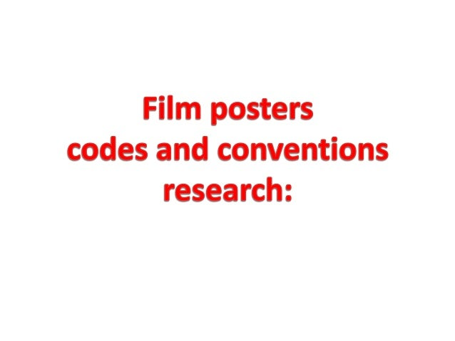 A film poster is a poster which contains elements of the film through an image in order to give the reader a taster of wha...