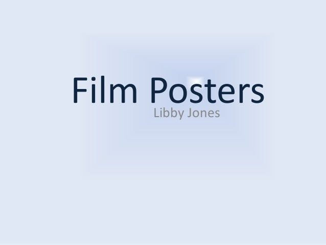 Film Posters Libby Jones