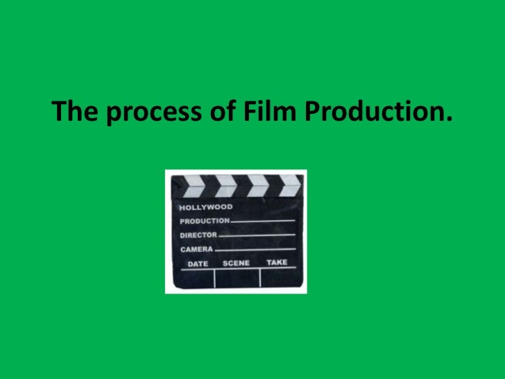 The process of Film Production.
