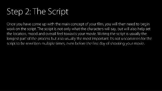 Film production Slide 3