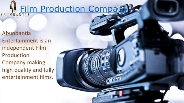 Film Production Company Abundantia Entertainment is an independent Film Production Company making high quality and fully e...
