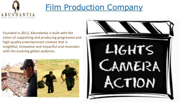 Film Production Company Founded in 2013, Abundantia is built with the vision of supporting and producing progressive and h...