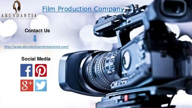 Film Production Company Contact Us http://www.abundantiaentertainment.com/ Social Media