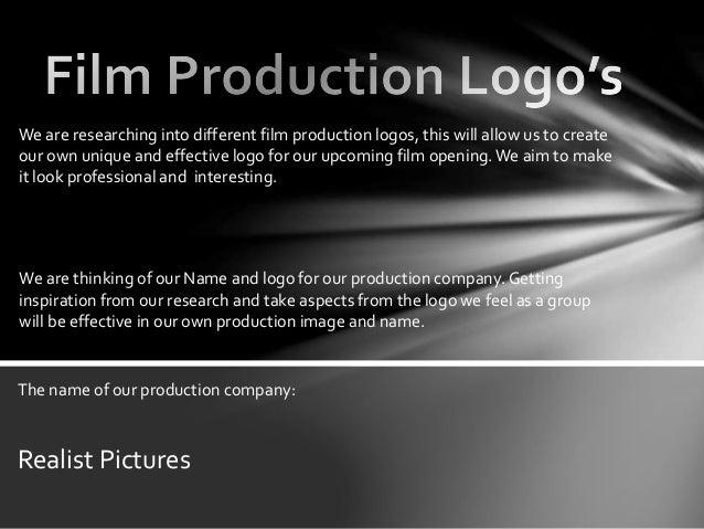 Film Production Logos