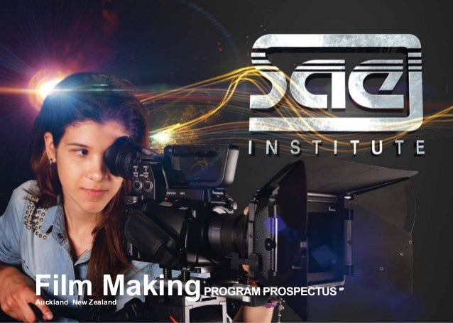 Film MakingProgram Prospectus Auckland New Zealand