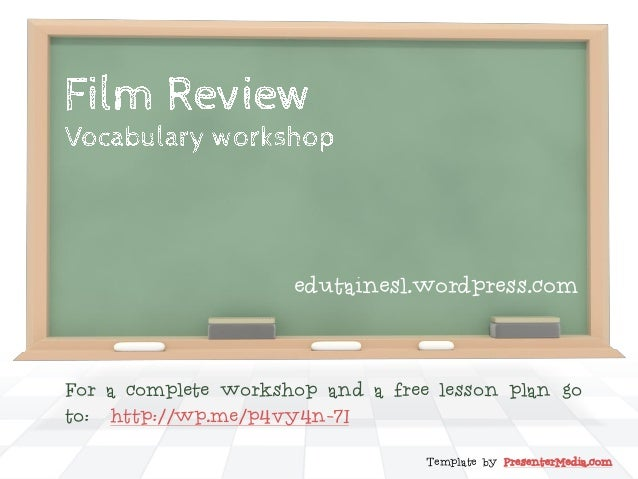 Template by PresenterMedia.com For a complete workshop and a free lesson plan go to: http://wp.me/p4vy4n-7I edutainesl.wor...
