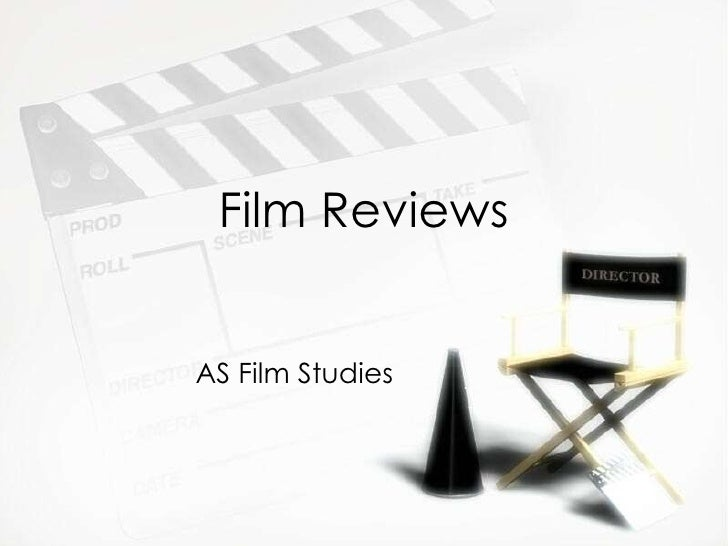 Film Reviews AS Film Studies