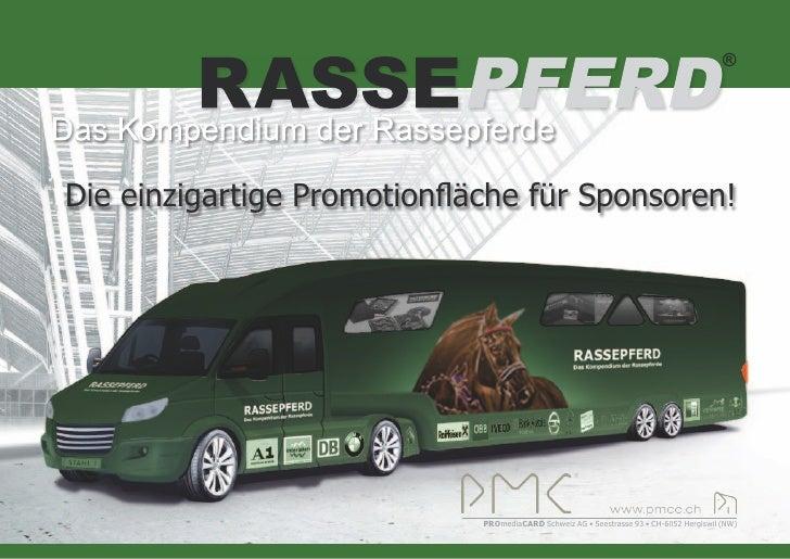 ®     Die einzigartige Promotionfläche für Sponsoren!                                  PROmediaCARD Schweiz AG • Seestrass...