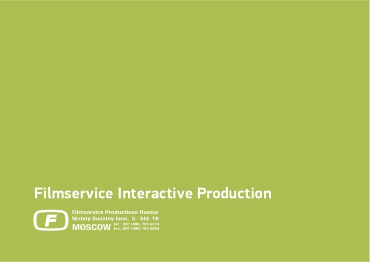 Filmservice Interactive Production
