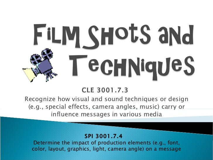 camera techniques and angles in jaws Free essays on jaws camera angles this idea is conveyed through silence and the lack of music as verbal techniques, and camera angles and camera movement as.