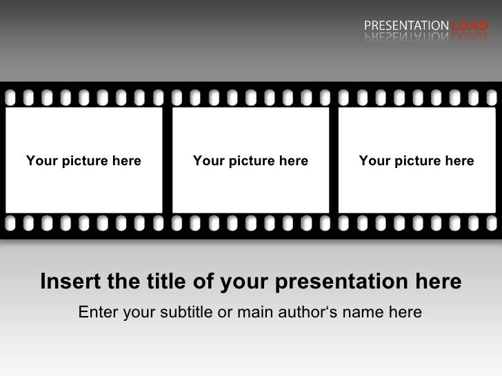 filmstrip powerpoint template - Acur.lunamedia.co