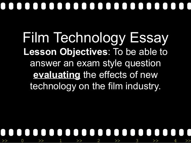 Film essay topics