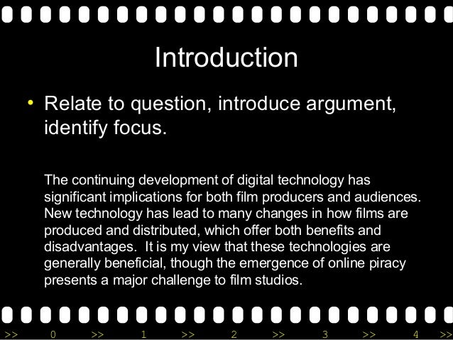 film technology essay