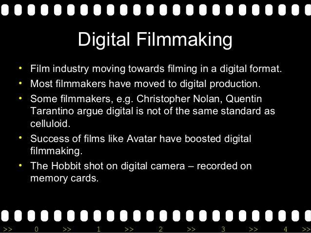 film technology essay digital filmmaking