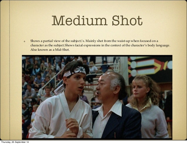 Medium shot movie