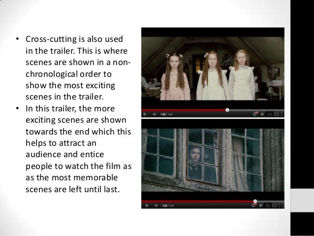 The film trailers essay