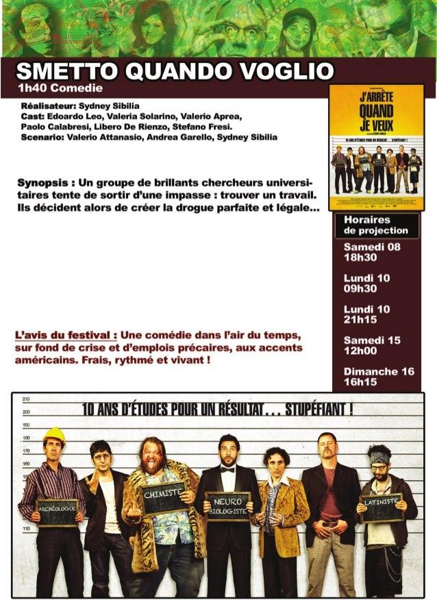 Festival du film italien d'Ajaccio - Edition 2014