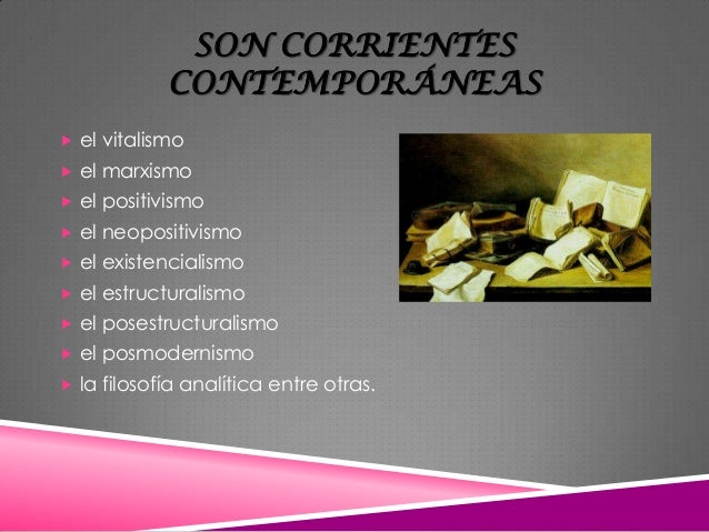Corrientes contempor neas for Definicion de contemporanea