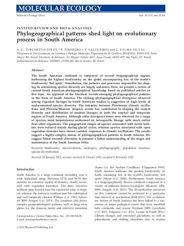 Molecular Ecology (2012)                                                                                  doi: 10.1111/mec...