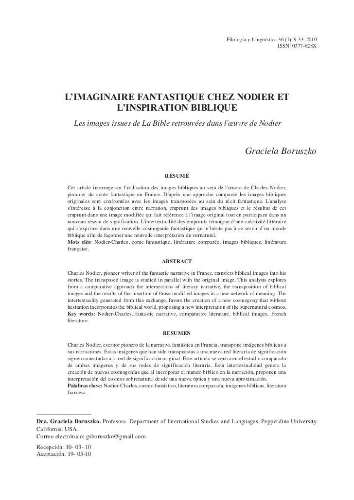 Filología y Lingüística 36 (1): 9-33, 2010                                                                                ...