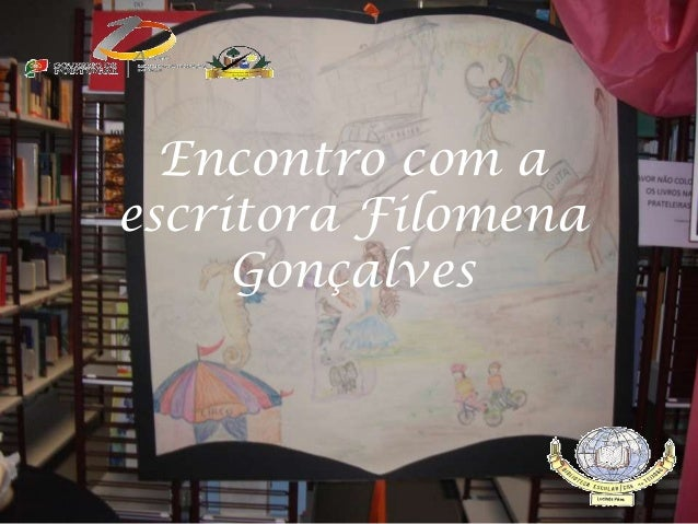 Encontro com a escritora Filomena Gonçalves