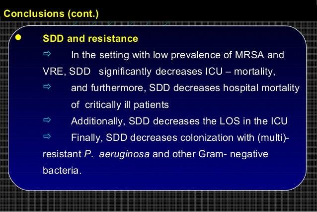 K S Filos MD PhD Selective Gut Decontamination