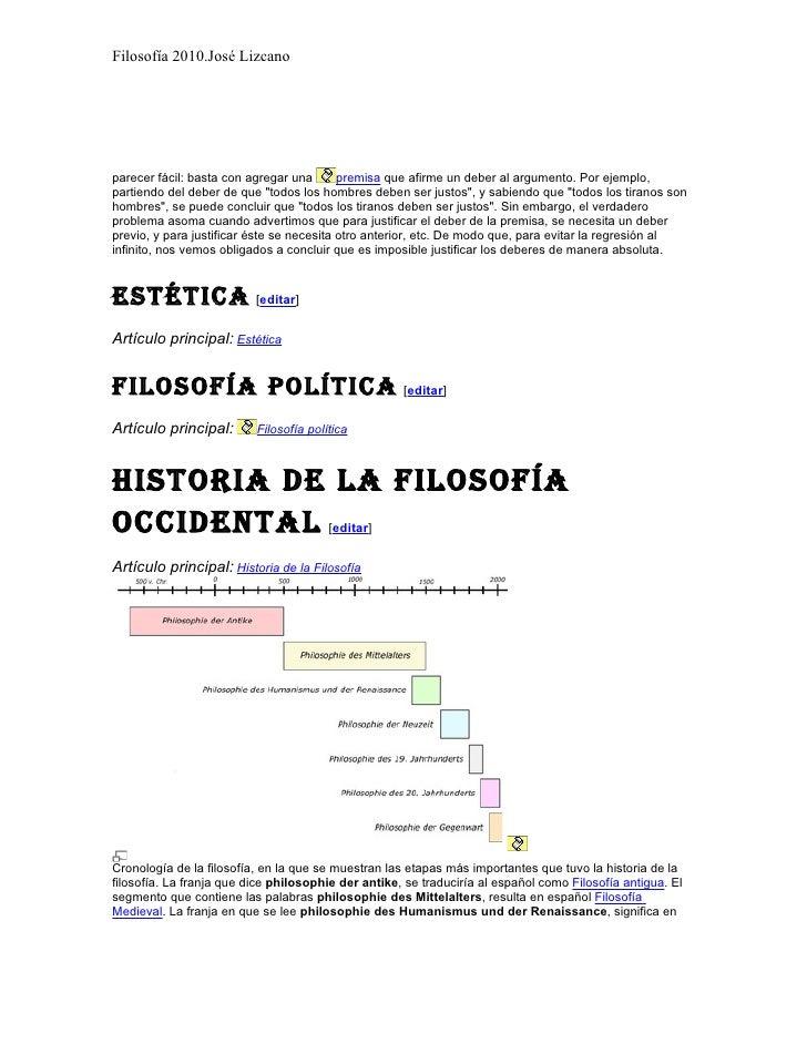 Filosofía 2010.José Lizcano     parecer fácil: basta con agregar una       premisa que afirme un deber al argumento. Por e...