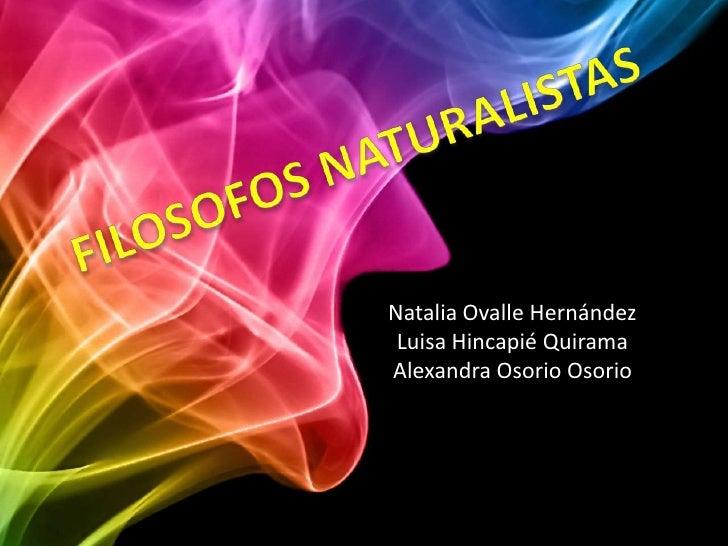 Natalia Ovalle Hernández Luisa Hincapié QuiramaAlexandra Osorio Osorio
