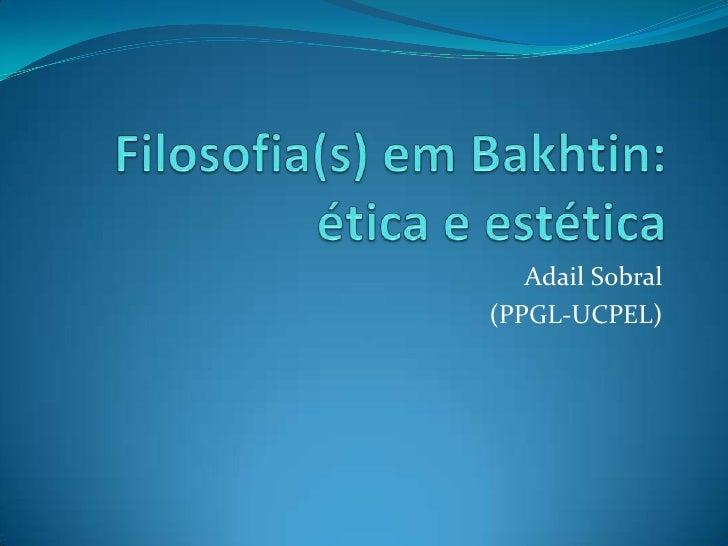 Adail Sobral(PPGL-UCPEL)