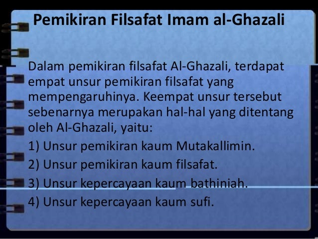 Filsafat Al Ghazali Dan Ibnu Rusyd