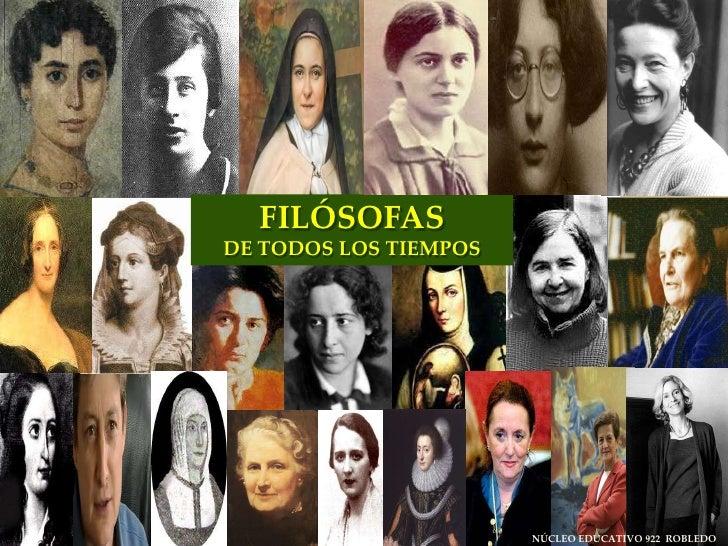 FILÓSOFAS <br />DE TODOS LOS TIEMPOS<br />NÚCLEO EDUCATIVO 922  ROBLEDO<br />