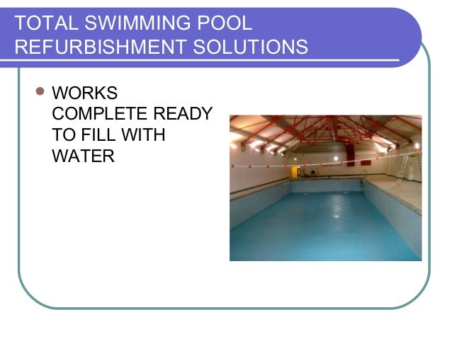 Pool Depth Reduction