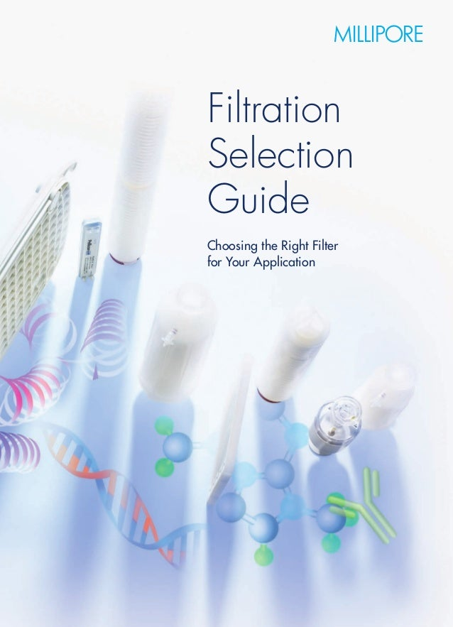 Filteration selection guide