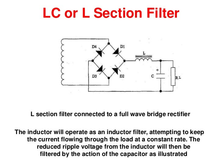 filter circuits, wiring diagram
