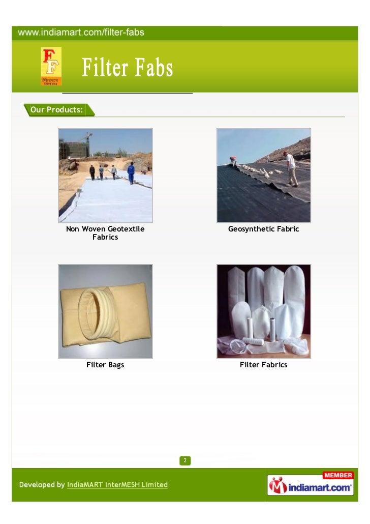 Filter Fabs, Delhi, Filter Bags Slide 3