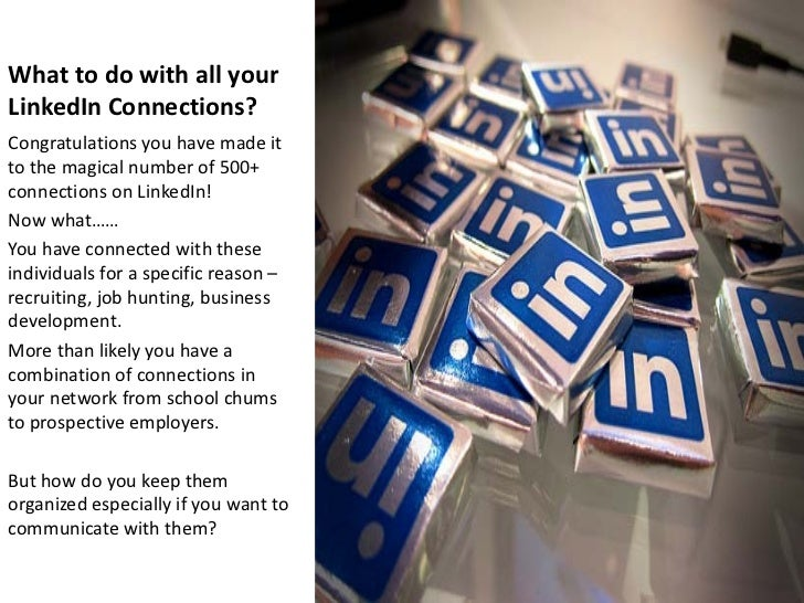 Filtering Your Connections on LinkedIn Slide 2