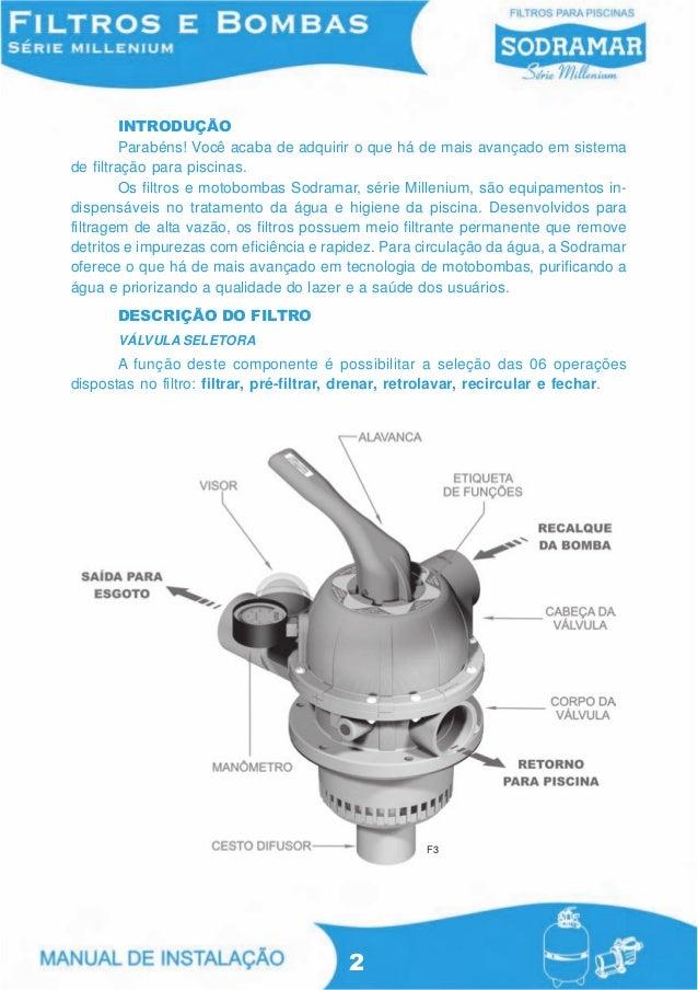 Manual de filtros e bombas da sodramar - Bombas de depuradoras para piscinas ...