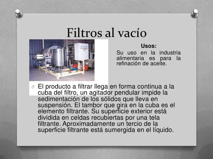 Filtros en la industria - Filtros para la cal ...