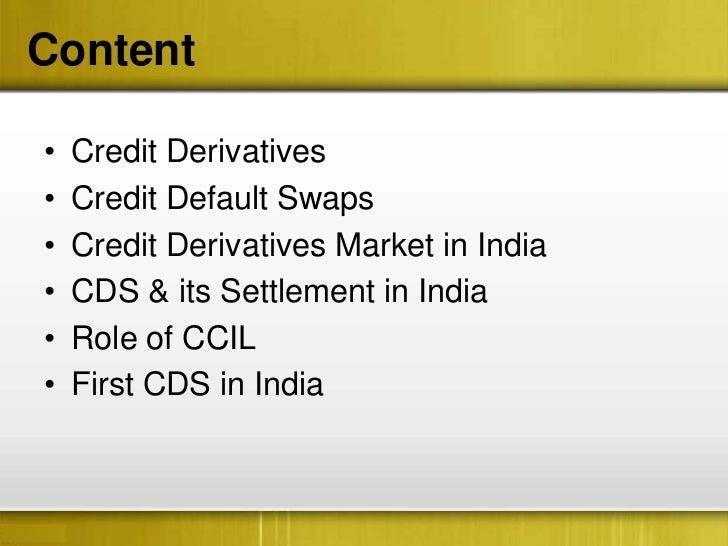 Literature Review – Credit Derivatives