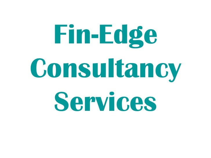 Fin-Edge Consultancy Services