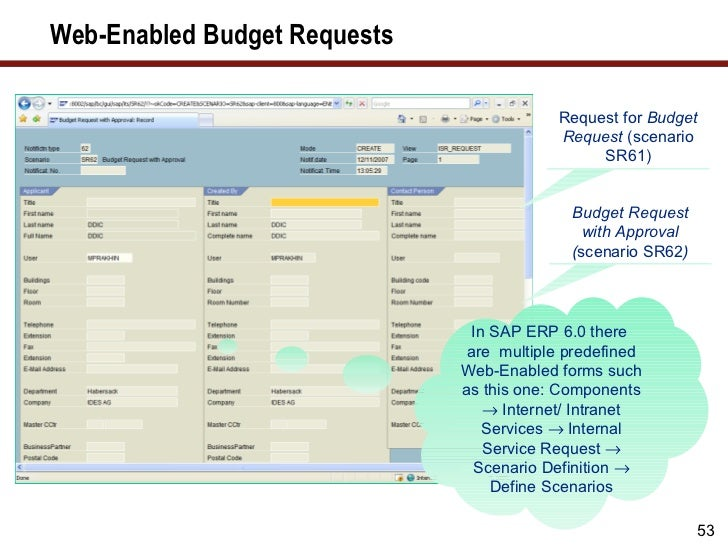 Sap Financials 2011 Prakhina Leverage Budget Management Functionality…