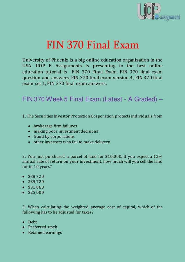 Tag Archives: uop final exams